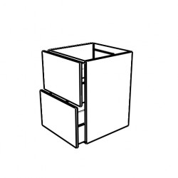 Mueble con 2 cajones