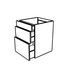 Mueble con 3 cajones